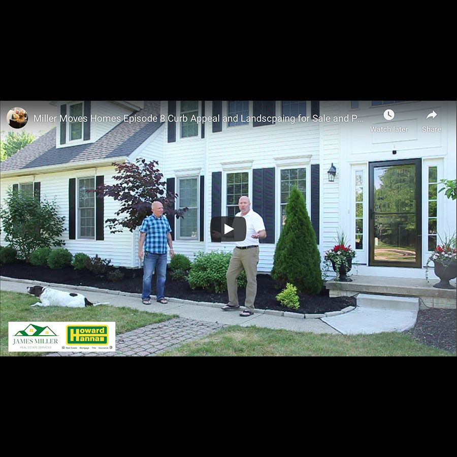 Miller Moves Homes Episode 8 Curb Appeal and Landscaping for Sale or Photography